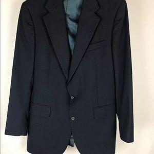 POLO RALPH LAUREN Navy BLUE Sport Coat Jacket Wool